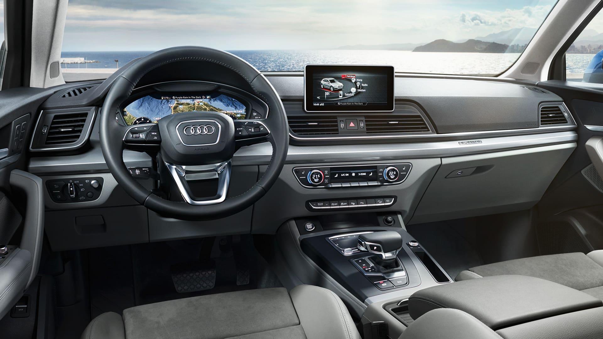Infotainment The New Audi Q Q Audi Singapore - Q5 audi
