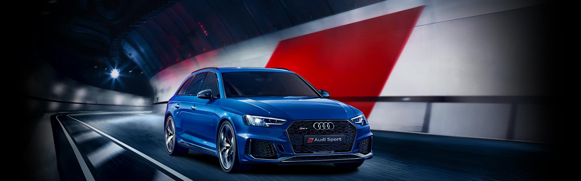 The new Audi RS 4 Avant.
